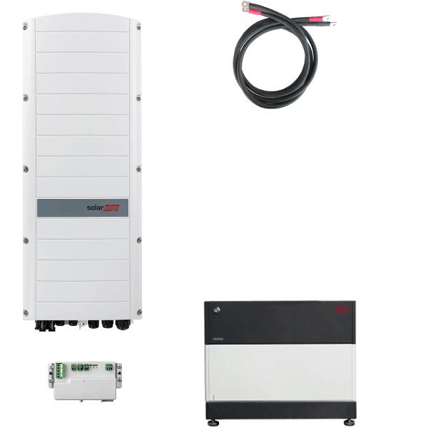 BYD Battery-Box PREMIUM LVS 8.0 mit SolarEdge StorEdge Dreiphasen-Wechselrichter SE10K