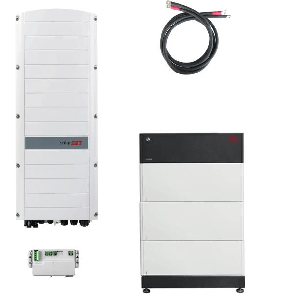 BYD Battery-Box PREMIUM LVS 24.0 mit SolarEdge StorEdge Dreiphasen-Wechselrichter SE10K